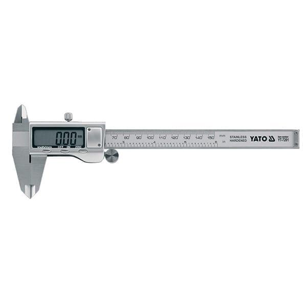 Ηλεκτρονικό παχύμετρο YATO 150mm