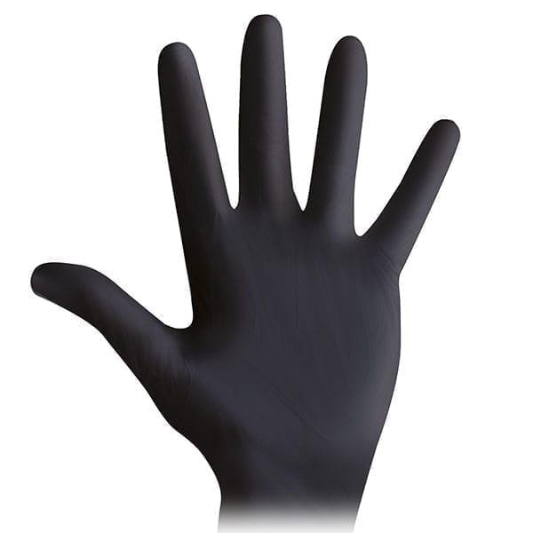 Γάντια νιτριλίου μαύρα μιας χρήσης Wurth - 100τεμ.-2