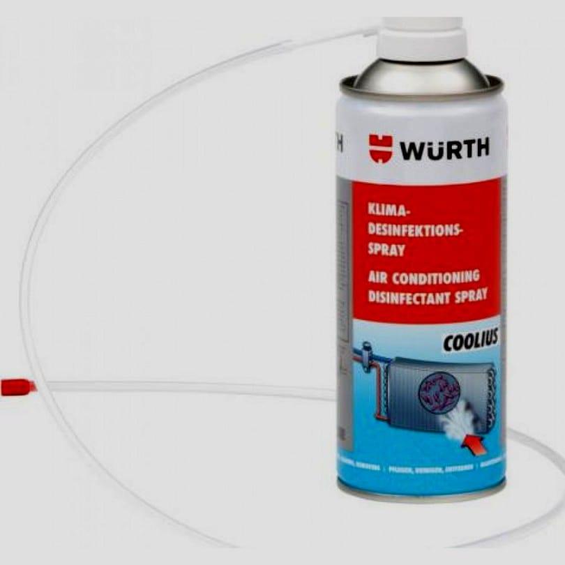 Απολυμαντικό σπρέι air condition 300ml wurth