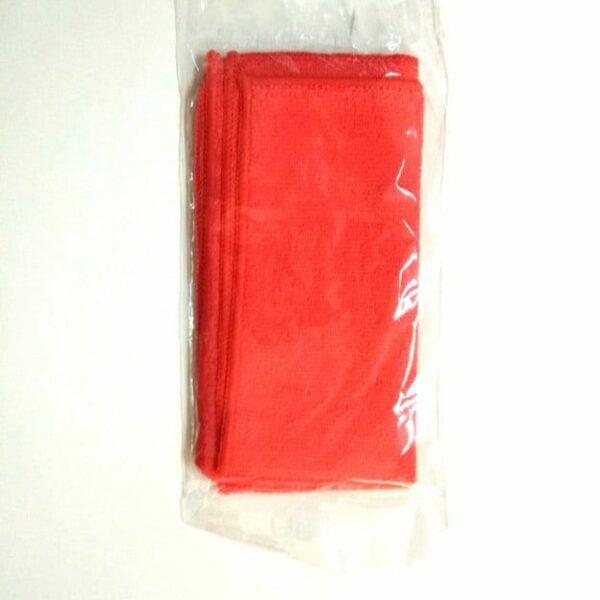 Πανί καθαρισμού κόκκινο microactive wurth