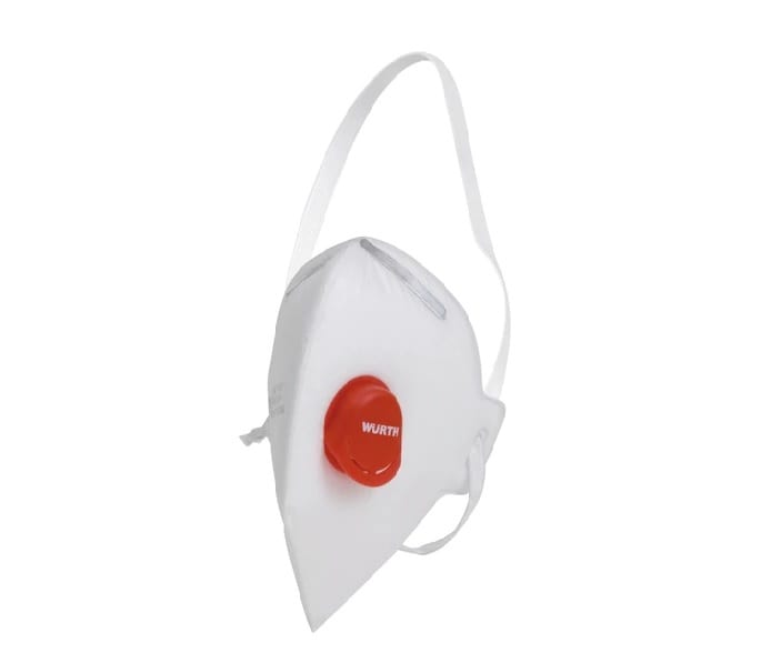 Μάσκα προστασίας FFP1 με βαλβίδα Wurth