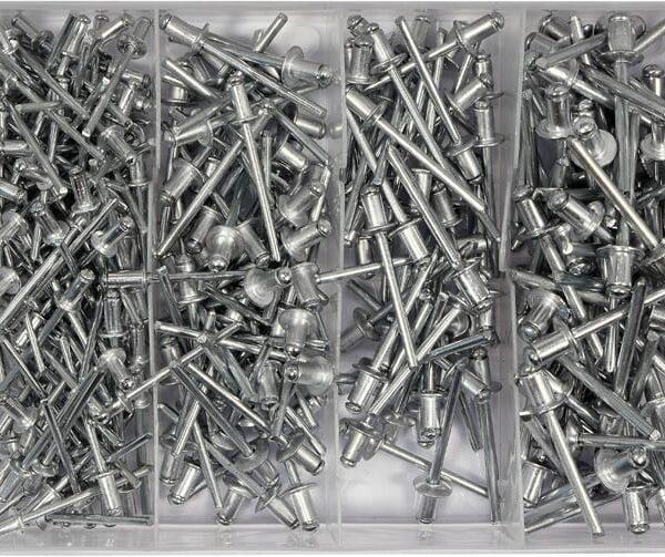 ΣΕΤ ΠΡΙΤΣΙΝΙΑ ΑΛΟΥΜΙΝΙΟΥ - Box Aluminium rivet assortment