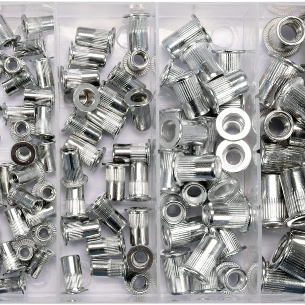 ΣΕΤ ΠΡΙΤΣΙΝΙΑ ΣΠΕΙΡΩΜΑΤΩΝ ΑΛΟΥΜΙΝΙΟΥ - Box Aluminium threaded rivet nuts