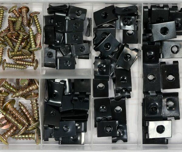 ΒΙΔΕΣ - ΚΛΙΠΣ ΑΥΤΟΚΙΝΗΤΟΥ ΣΕΤ -Box Bodywork nuts & screws assortment