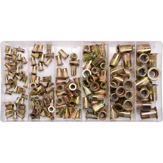 Πριτσίνια σπειρωμάτων σετ Threaded rivet nuts
